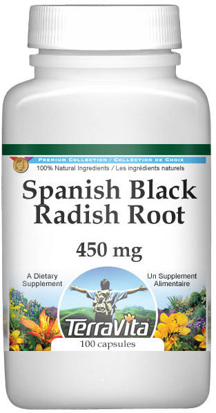 Spanish Black Radish Root - 450 mg