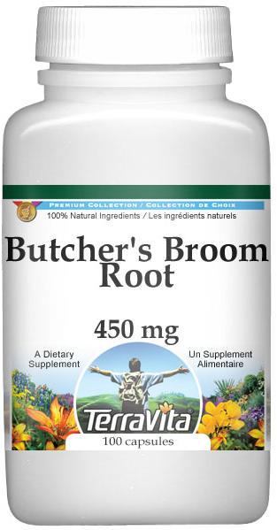 Butcher's Broom Root - 450 mg