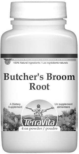 Butcher S Broom Root Powder 4 Oz Zin 510881
