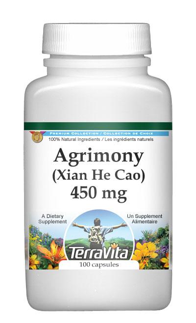 Agrimony (Xian He Cao) - 450 mg