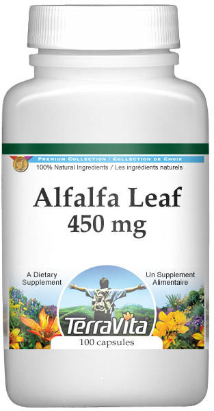 Alfalfa Leaf - 450 mg