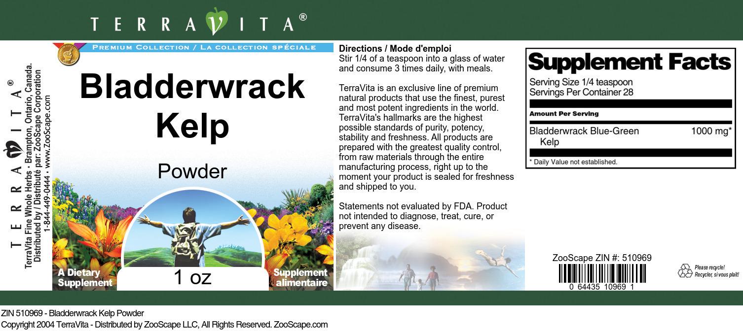 Bladderwrack Kelp Powder