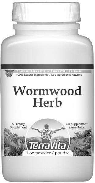 Wormwood Herb (Artemisia absinthium) Powder