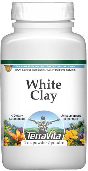 Clay, White Powder