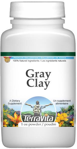 Clay, Gray Powder