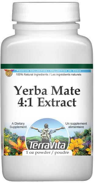 Extra Strength Yerba Mate 4:1 Extract Powder