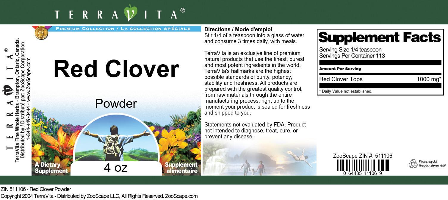 Red Clover Powder