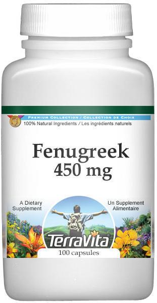 Fenugreek - 450 mg