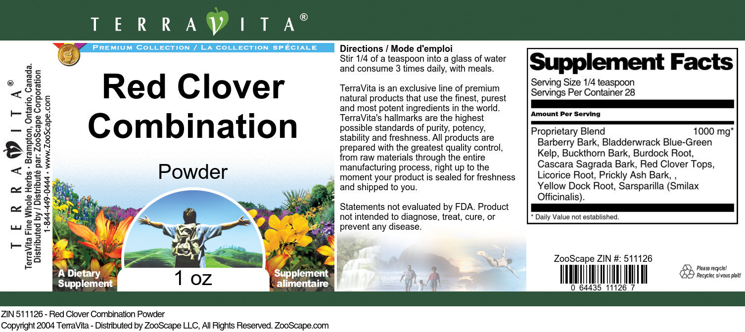 Red Clover Combination Powder