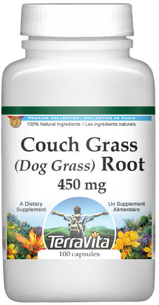 Couch Grass (Dog Grass) Root - 450 mg