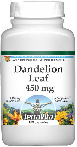 Dandelion Leaf - 450 mg