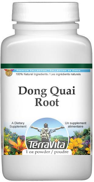 Dong Quai (Chinese Angelica) Root Powder