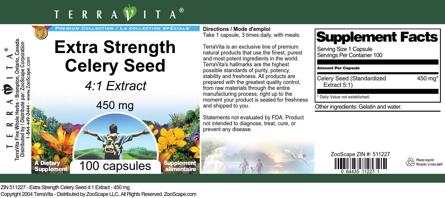 Celery Seed 4:1 Extract