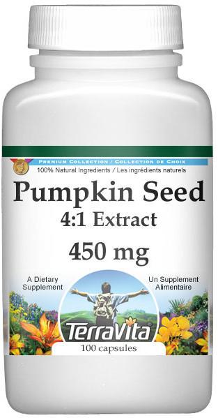 Extra Strength Pumpkin Seed 4:1 Extract - 450 mg