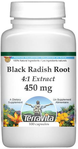 Extra Strength Black Radish Root 4:1 Extract - 450 mg