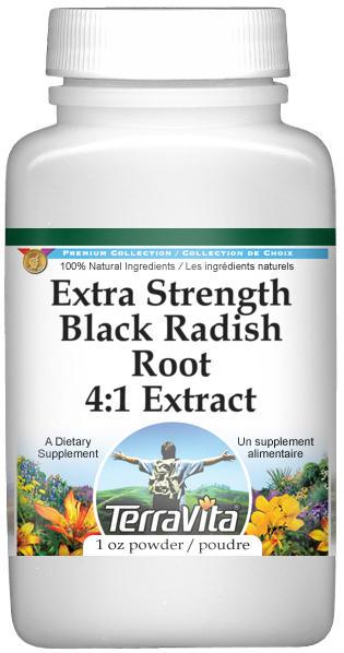 Extra Strength Black Radish Root 4:1 Extract Powder