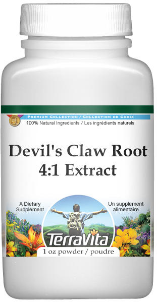 Extra Strength Devil's Claw Root 4:1 Extract Powder