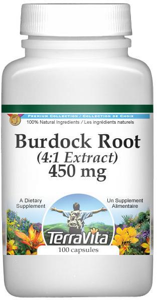Extra Strength Burdock Root 4:1 Extract - 450 mg