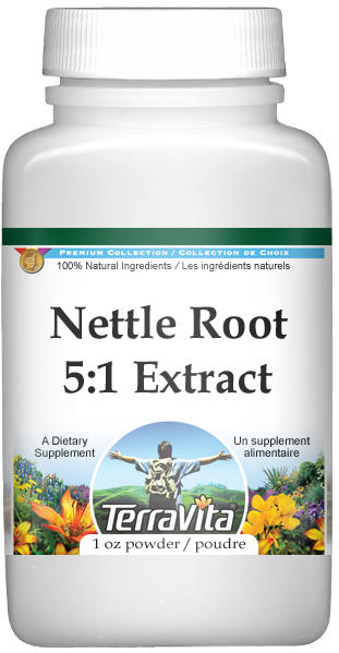 Extra Strength Nettle Root 5:1 Extract Powder