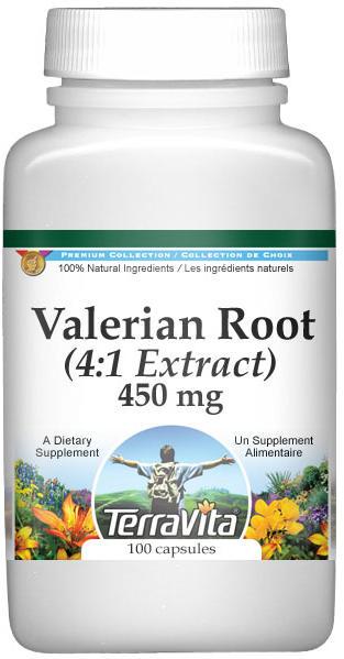 Extra Strength Valerian Root 4:1 Extract - 450 mg