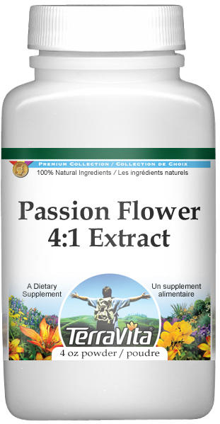 Extra Strength Passion Flower (Passiflora) 4:1 Extract Powder