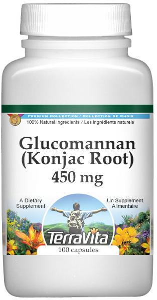Glucomannan (Konjac Root) - 450 mg
