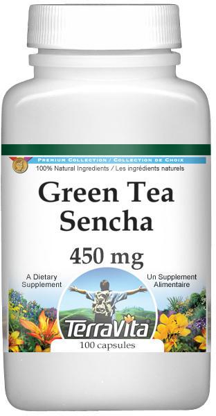 Green Tea Sencha - 450 mg