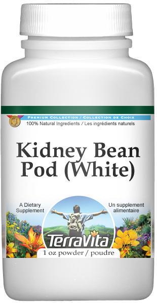 Kidney Bean Pod (White) Powder