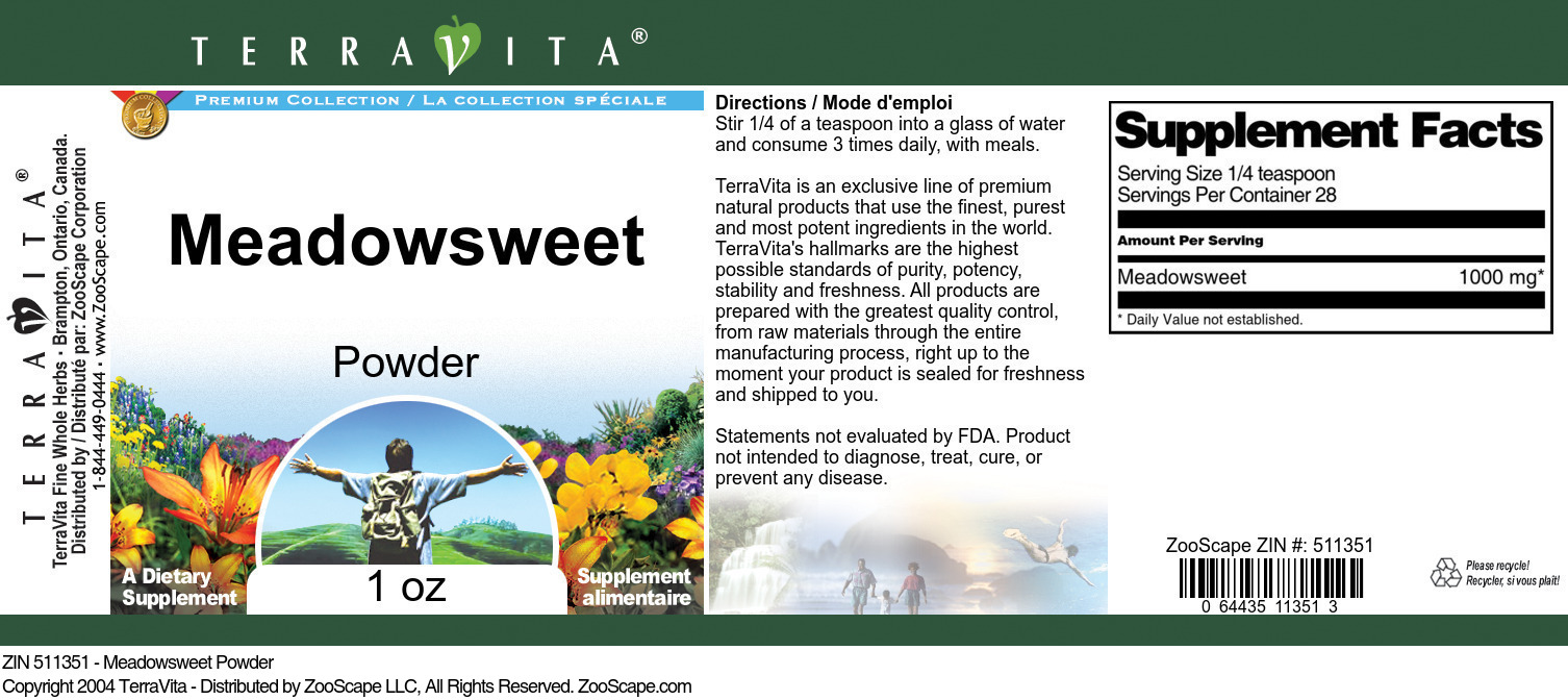 Meadowsweet Powder
