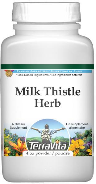 Milk Thistle Herb Powder