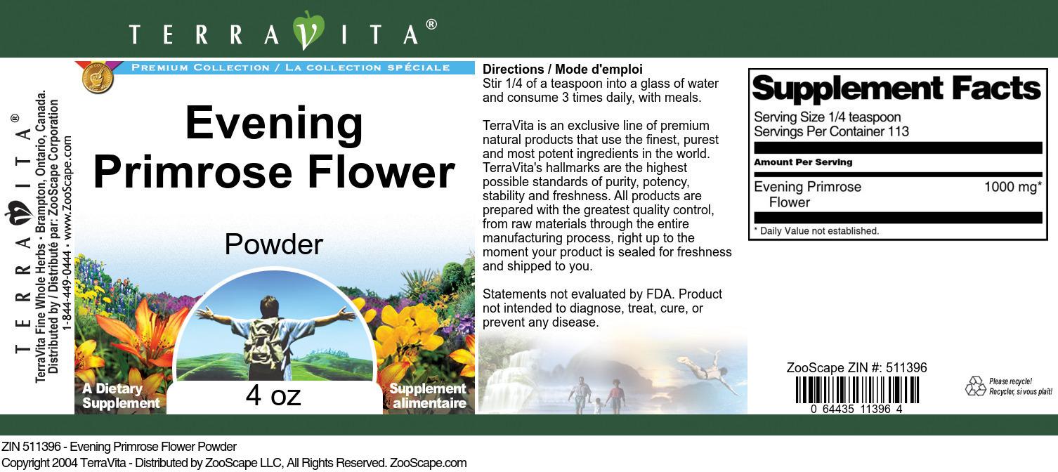 Evening Primrose Flower Powder