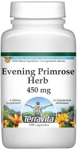 Evening Primrose Herb - 450 mg