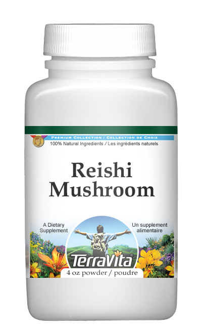 Reishi Mushroom (Ganoderma lucidum) Powder