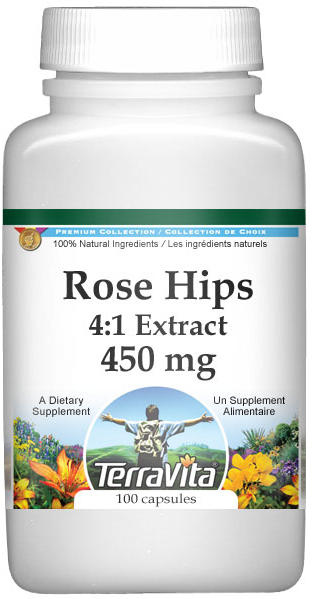 Extra Strength Rose Hips 4:1 Extract - 450 mg