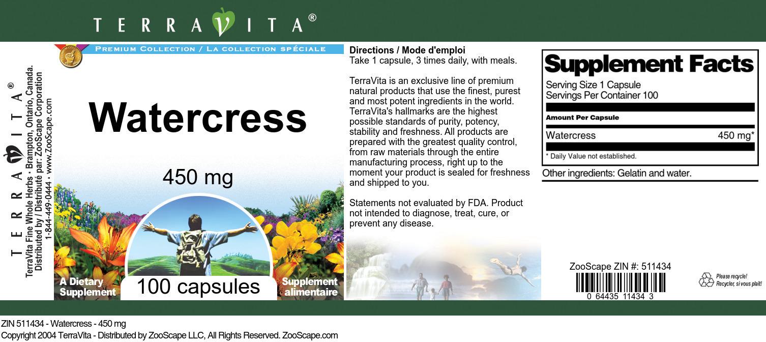 Watercress - 450 mg