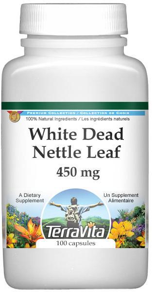 White Dead Nettle Leaf - 450 mg