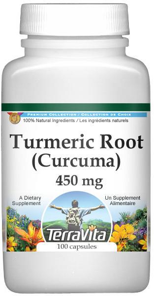 Turmeric Root (Curcuma) - 450 mg