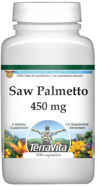 Saw Palmetto - 450 mg