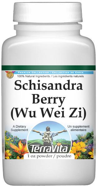 Schisandra Berry (Wu Wei Zi) Powder