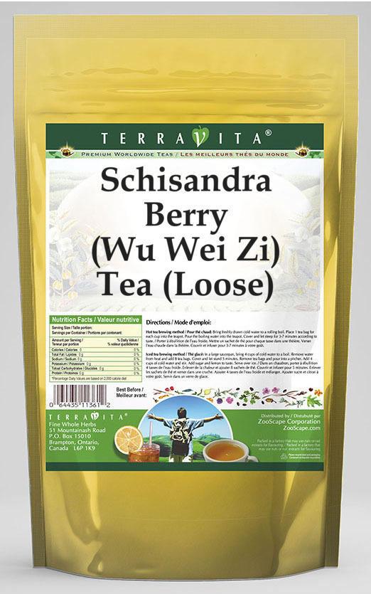 Schisandra Berry (Wu Wei Zi) Tea (Loose)
