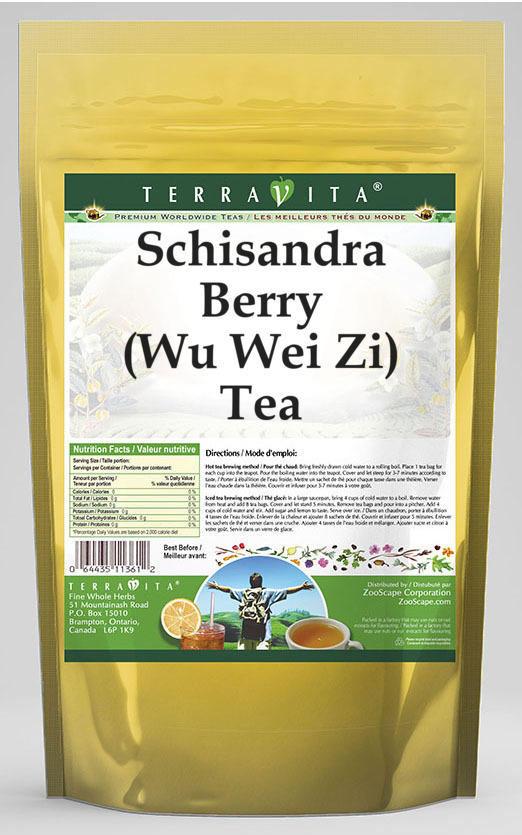 schizandra berry wu wei zi tea 25 tea bags zin 511577