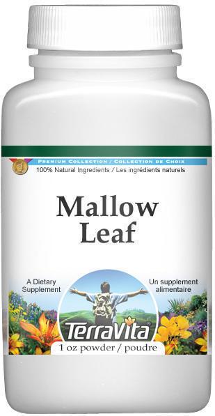 Mallow (Malva sylvestris) Flower Powder