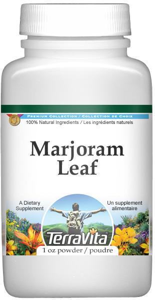 Marjoram Leaf Powder