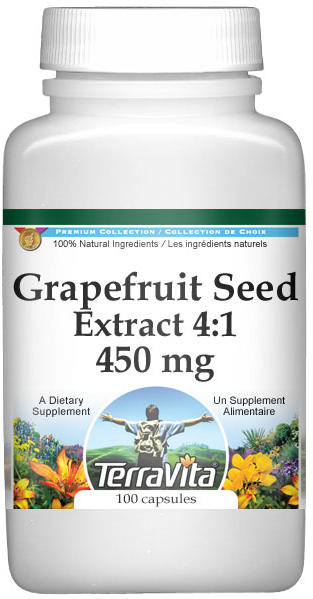 Grapefruit Seed Extract 4:1 - 450 mg