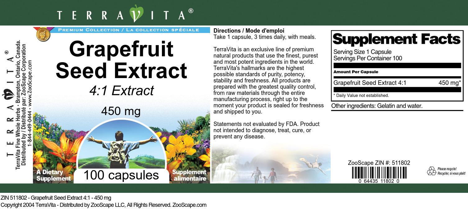 Grapefruit Seed 4:1