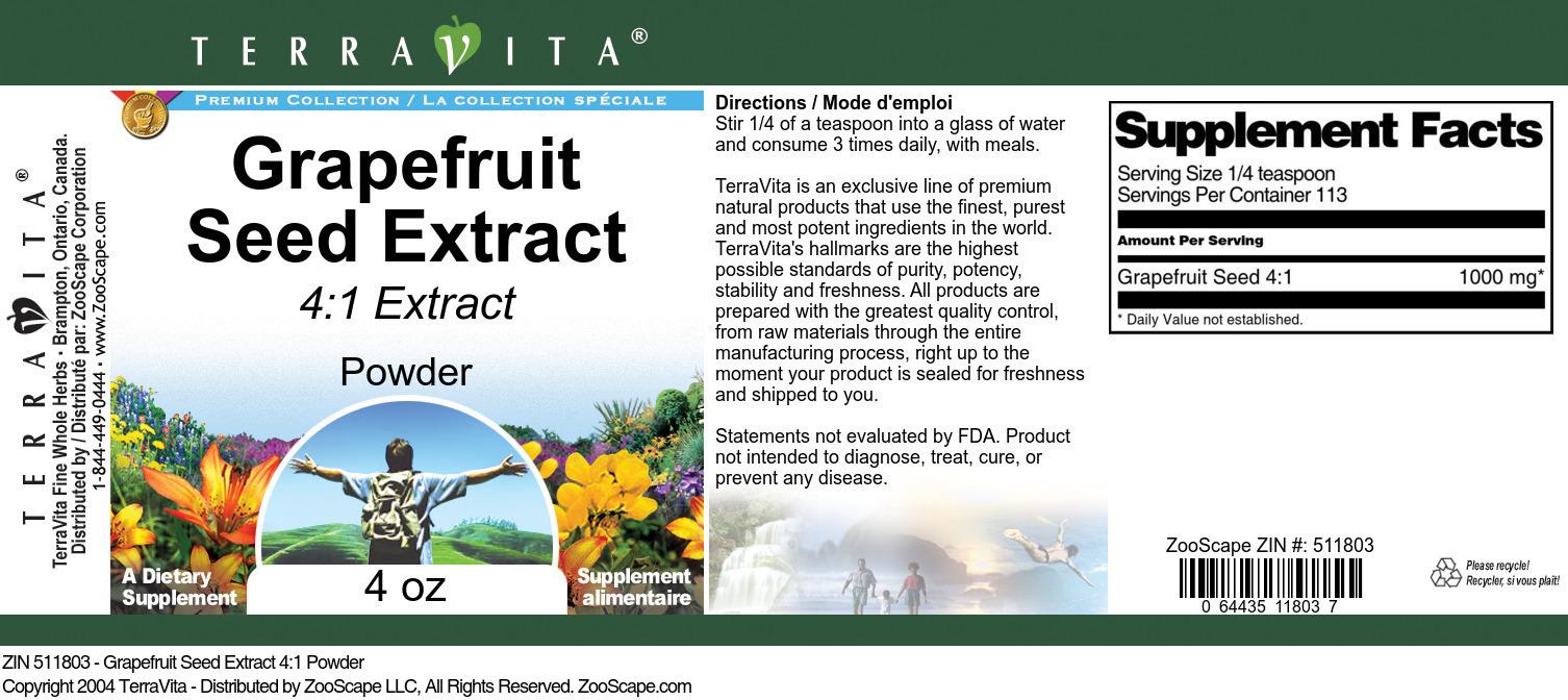 Grapefruit Seed Extract 4:1 Powder
