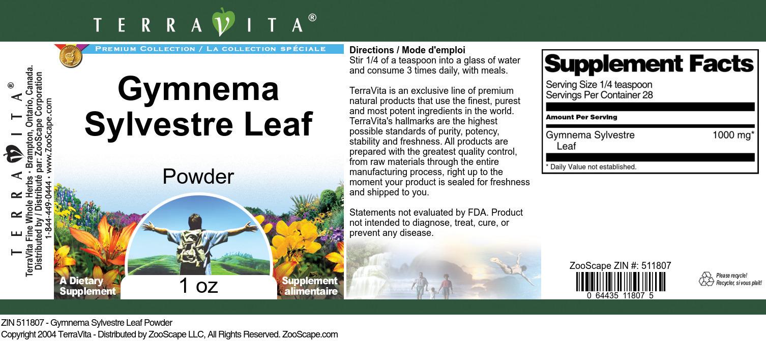 Gymnema Sylvestre Leaf Powder