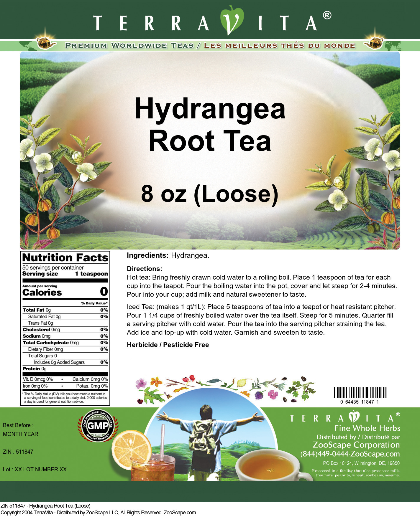 Hydrangea Root