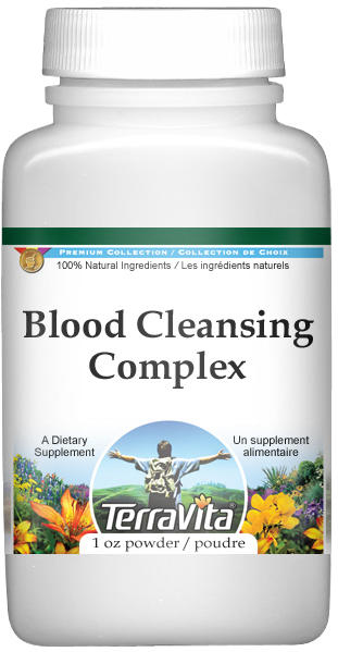Blood Cleansing Complex Powder - Red Vine Leaf and Marshmallow Root