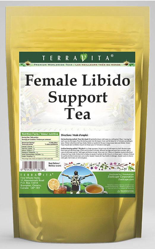 Female Libido Support Tea - Guarana, Muira Puama, Eleuthero and More